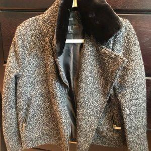 Black & Grey coat